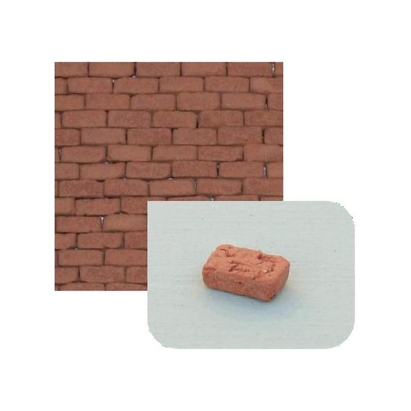 Mondo Presepi Mattoncini in terracotta mm 7x3x2,8 disponibile