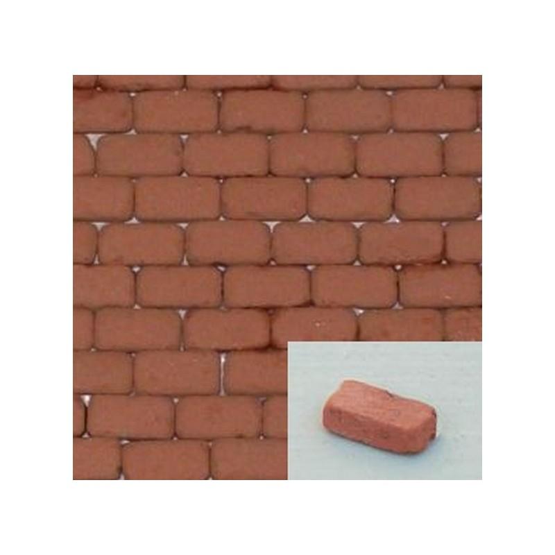 Mattone pavimento in cotto mm 7x3x1,8 disponibile in: