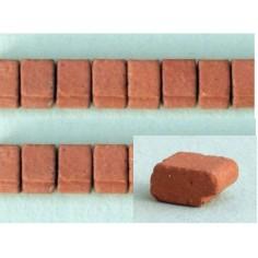 Shelves 9x7 mm in terracotta bag 60 pcs