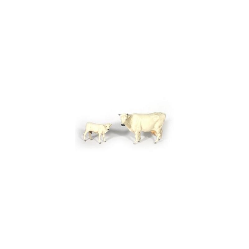 Mondo Presepi Mucca e vitello Landi - Cod. L81300