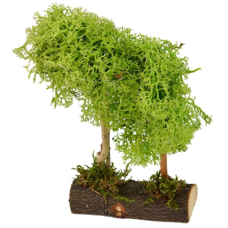 Albero verde doppio cm 9x3,5x16 h