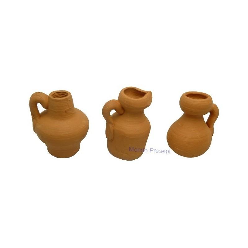 Set 3 amphorae 2.5 cm