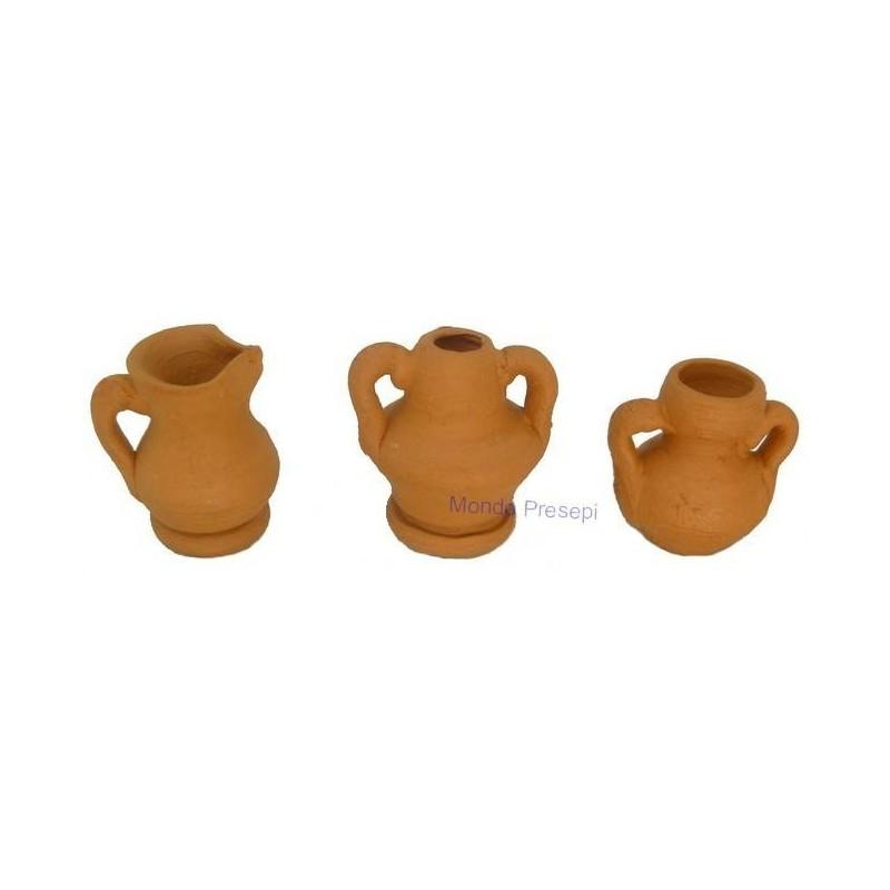 Set 3 amphorae 1,5 cm P-A6360