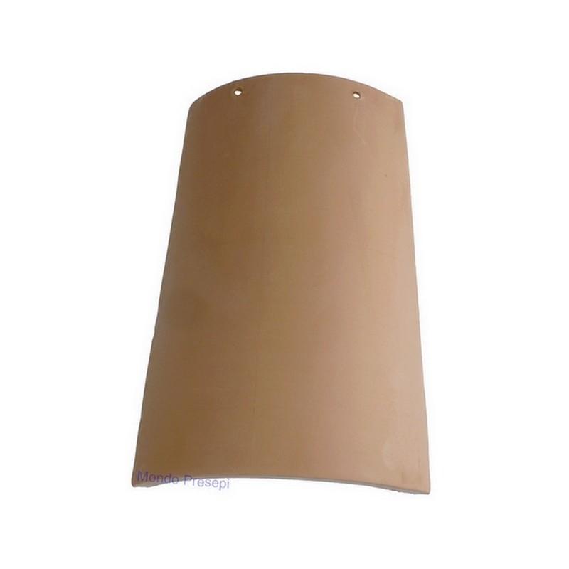 Terracotta roof tile 10.5x6 cm