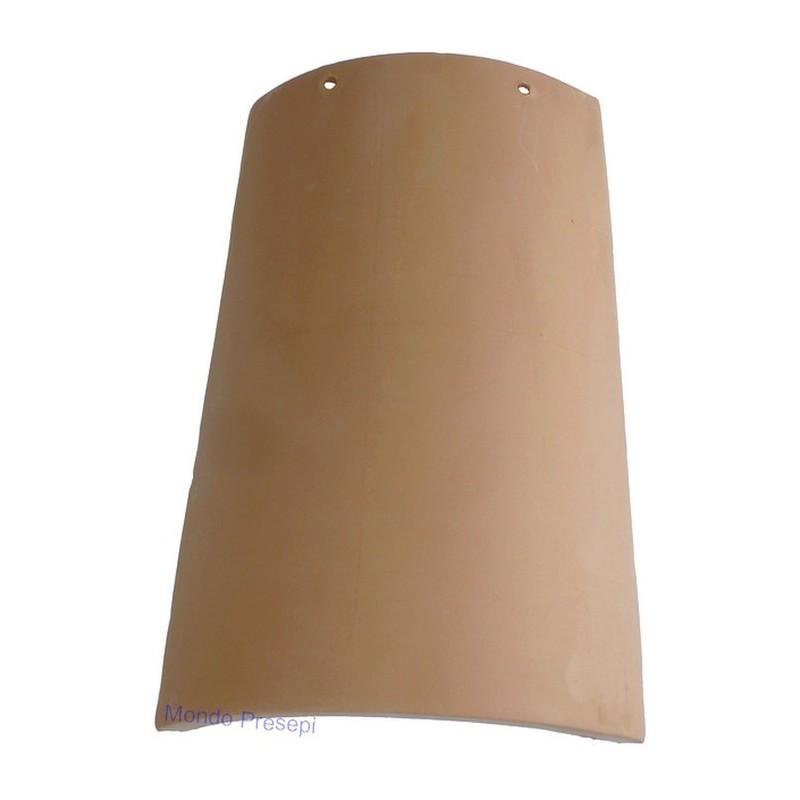 Terracotta roof tile 15X25 cm