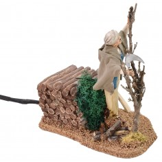 Boscaiolo in movimento 12 cm Landi Moranduzzo Mondo Presepi
