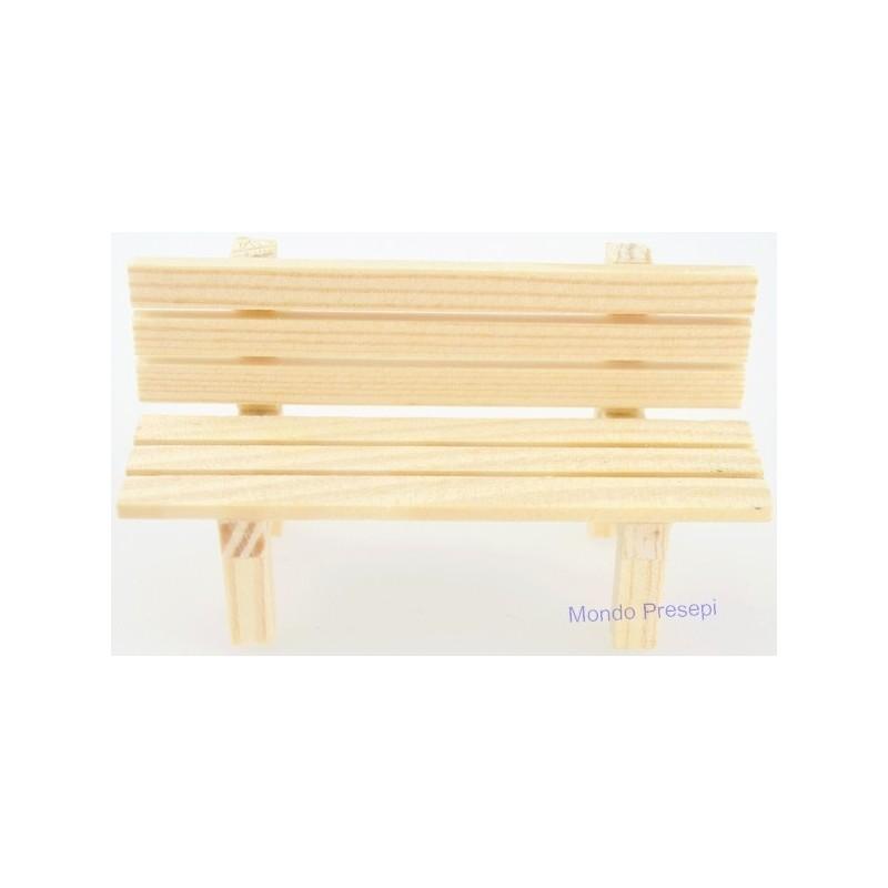 Mondo Presepi Panchina in legno disponibile nelle misure:
