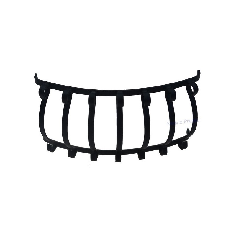 Rounded semicircle railing various sizes: