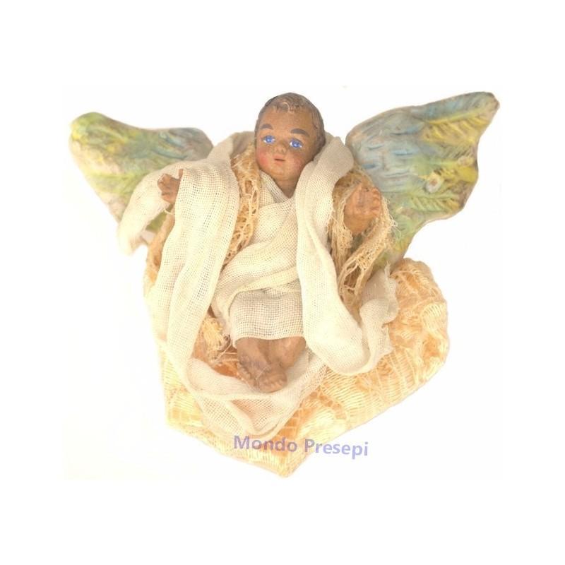 Angelo in terracotta Mondo Presepi