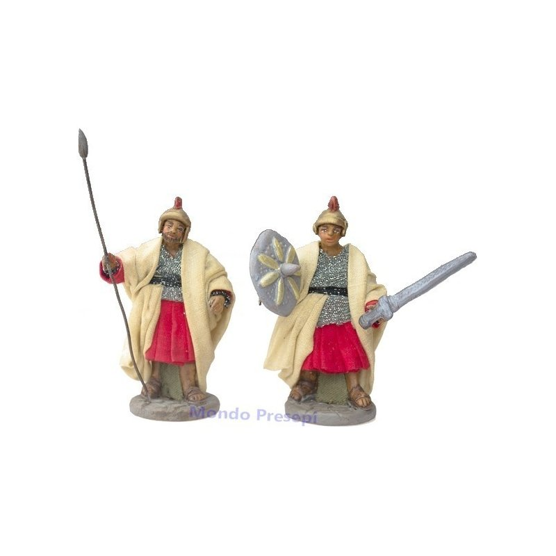 Mondo Presepi Set 2 soldati romani