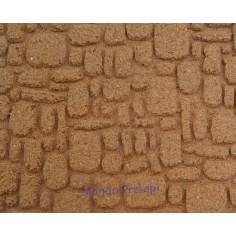 Pannello sughero cm 17x23x0,6 a mattoni piccoli - FS14