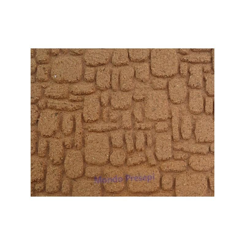 Mondo Presepi Pannello pietre sfalzate cm 25x25 - presepe