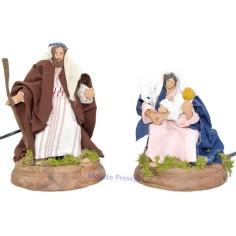 Nativity cm 15 in movement