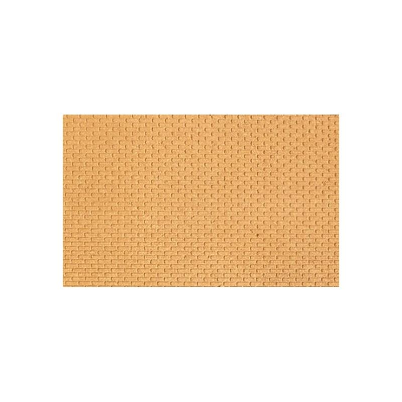 Panel cork cm 25x20x0,6 in brick