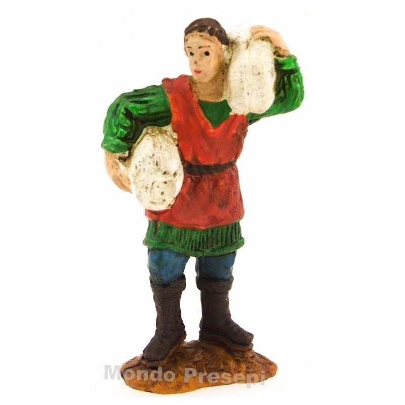 Pastore con pecora serie Oliver cm 5