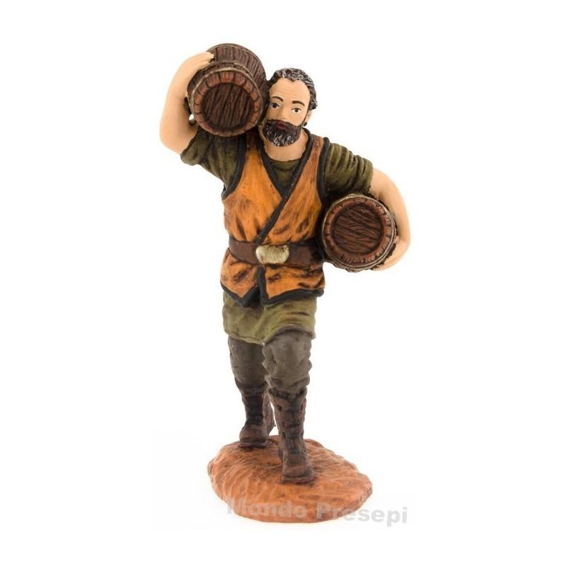 Man with barrels 10 cm series Oliver
