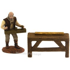 Carpenter with bench 10 cm series Oliver