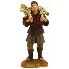 Pastore con agnello a spalle serie cm 8 Oliver