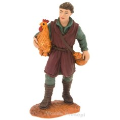 Farmer with hen series cm 8 Oliver
