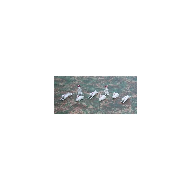 Mondo Presepi Set 8 conigli - Cod. W31