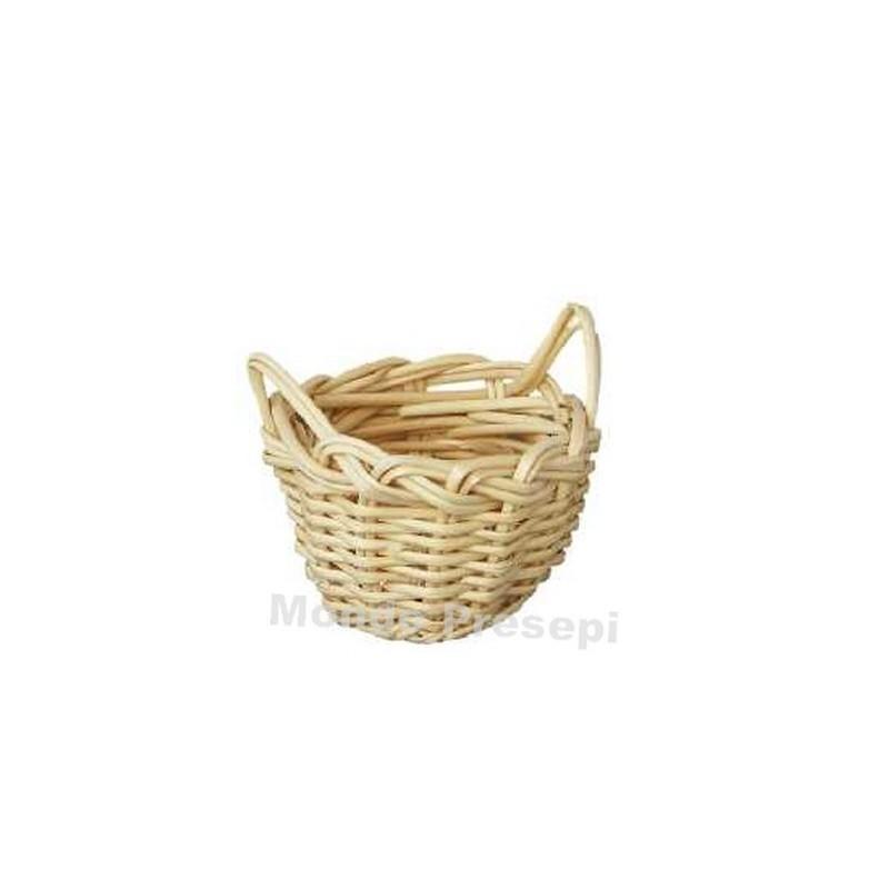 Wicker basket ø 2.5 cm