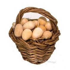 Cesto con uova cm 2,5