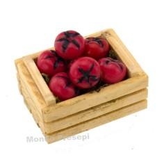 Mondo Presepi Cassetta cm 3,5 due listelli con pomodori
