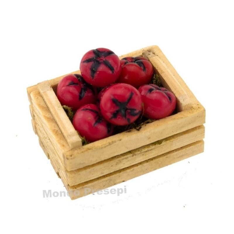 Cesto con uva nera cm 2,5