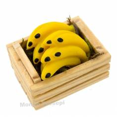 Mondo Presepi Cassetta cm 3,5 due listelli con banane