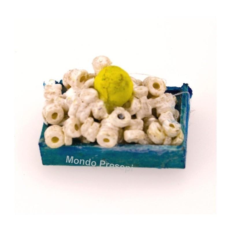 Mondo Presepi Cassetta pesce anelli cm 3,4x2,4