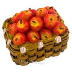Basket 4 cm Apples