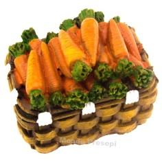 Basket 4 cm Carrots