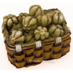 Basket 4 cm Garlic
