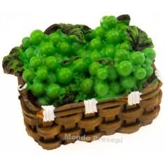 Basket cm 4 Yellow grapes