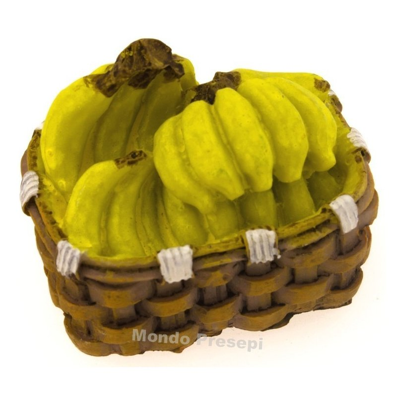 Mondo Presepi Cesto cm 4 Banane