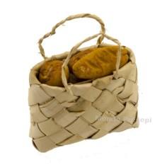 Mondo Presepi Borsa cm 4,5 con pane
