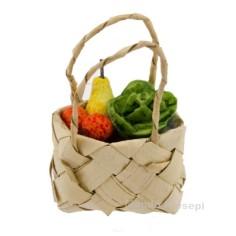 Mondo Presepi Borsa cm 3 con frutta