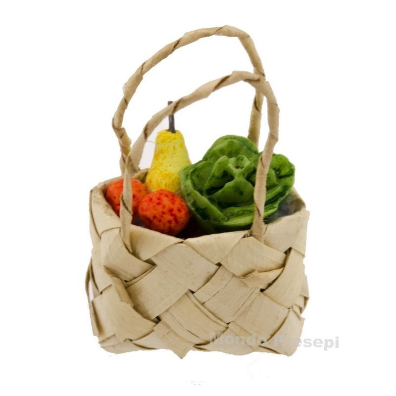 3 cm bag with fruit