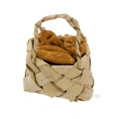 Mondo Presepi Borsa cm 3 con pane