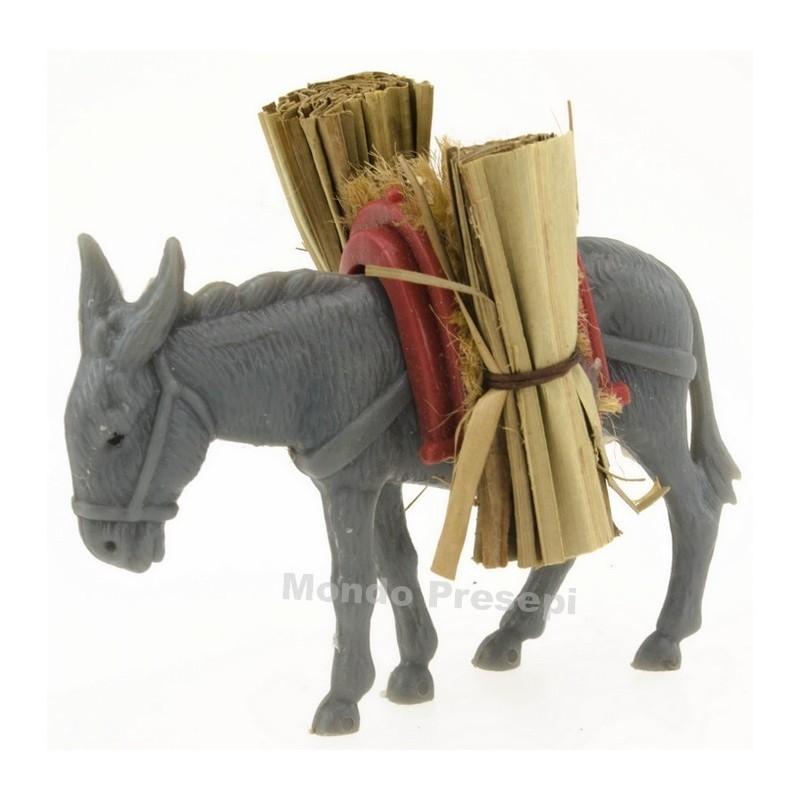 Donkey with bundles