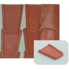 Roman terracotta roof tiles 25x35 mm available in: