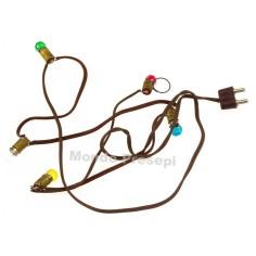 Serie 5 lampadine 3,5 volt E5,5