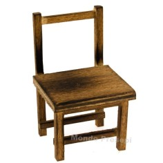 Chair in aged wood