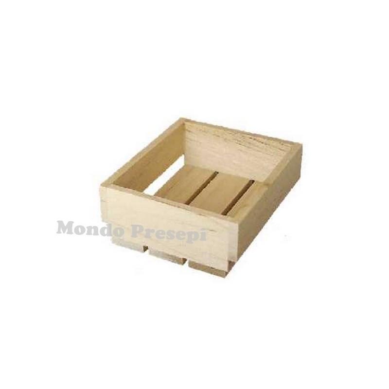 Mondo Presepi Cassetta in legno cm 3x2,2