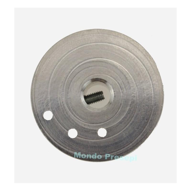 Mondo Presepi Puleggia ø 3,5 cm in alluminio per motoriduttori