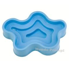 Vaschetta azzurra cm 19x12x5