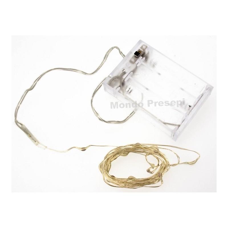 20 led cold light necklace