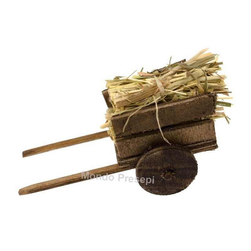 Cart with straw - 358884