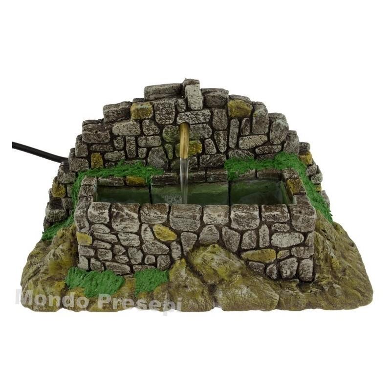 Mondo Presepi Fontana in pietre