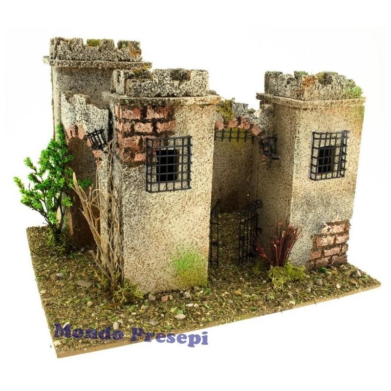 Castle 27x21 cm